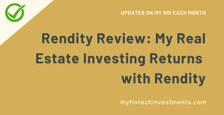 Rendity Review My Real Estate Investing Returns with Rendity
